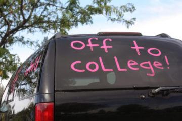 college - off to college