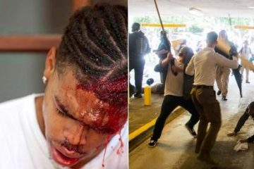 deandre harris - deandre harris being beaten