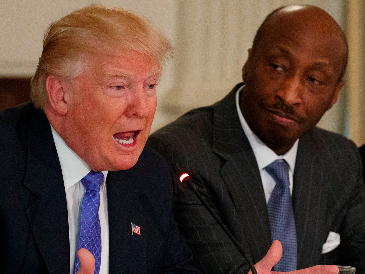 Merck, Under Armour CEOs resign from Trump business panel