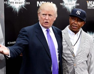 donald trump & russell simmons
