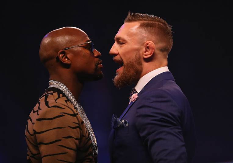 pay-per-view boxing match