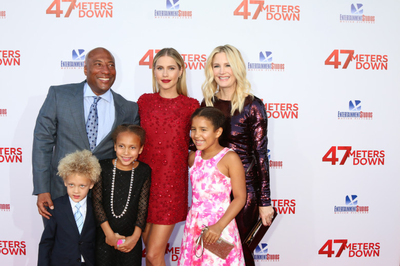 """""""47 Meters Down"""" star Claire Holt at the film's premiere"""