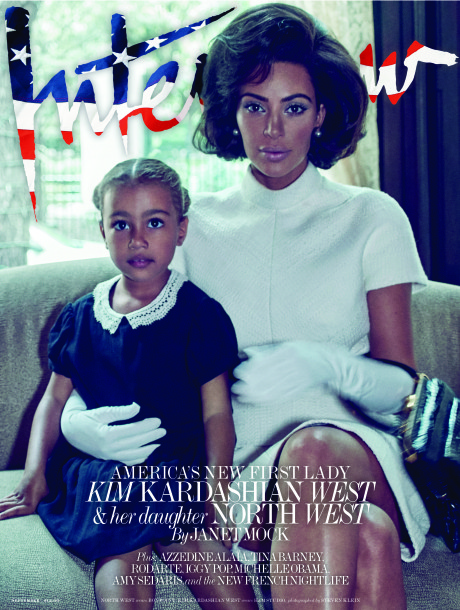 Kim Kardashian and daughter North cover the September issue of InterviewSteven Klein