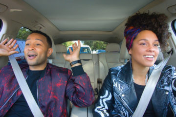"John Legend and Alicia Keys on ""Carpool Karaoke"" (Apple Music)"