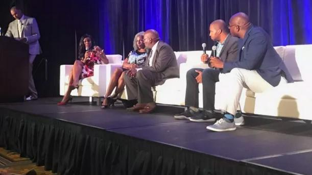 nabj - ed gordon omarosa & panel members