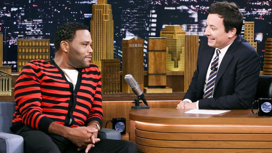 Anthony Anderson on 'The Tonight Show'