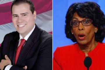 omar navarro & maxine waters