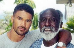 shemar moore & father sherrod moore