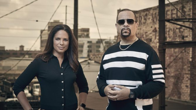 "Soledad O'Brien and Ice-T of Fox's ""Who Shot Biggie & Tupac?"""