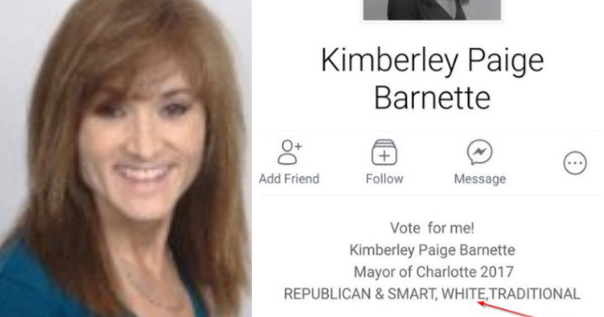 Charlotte mayoral candidate lists 'white' among qualifications; GOP chair condemns