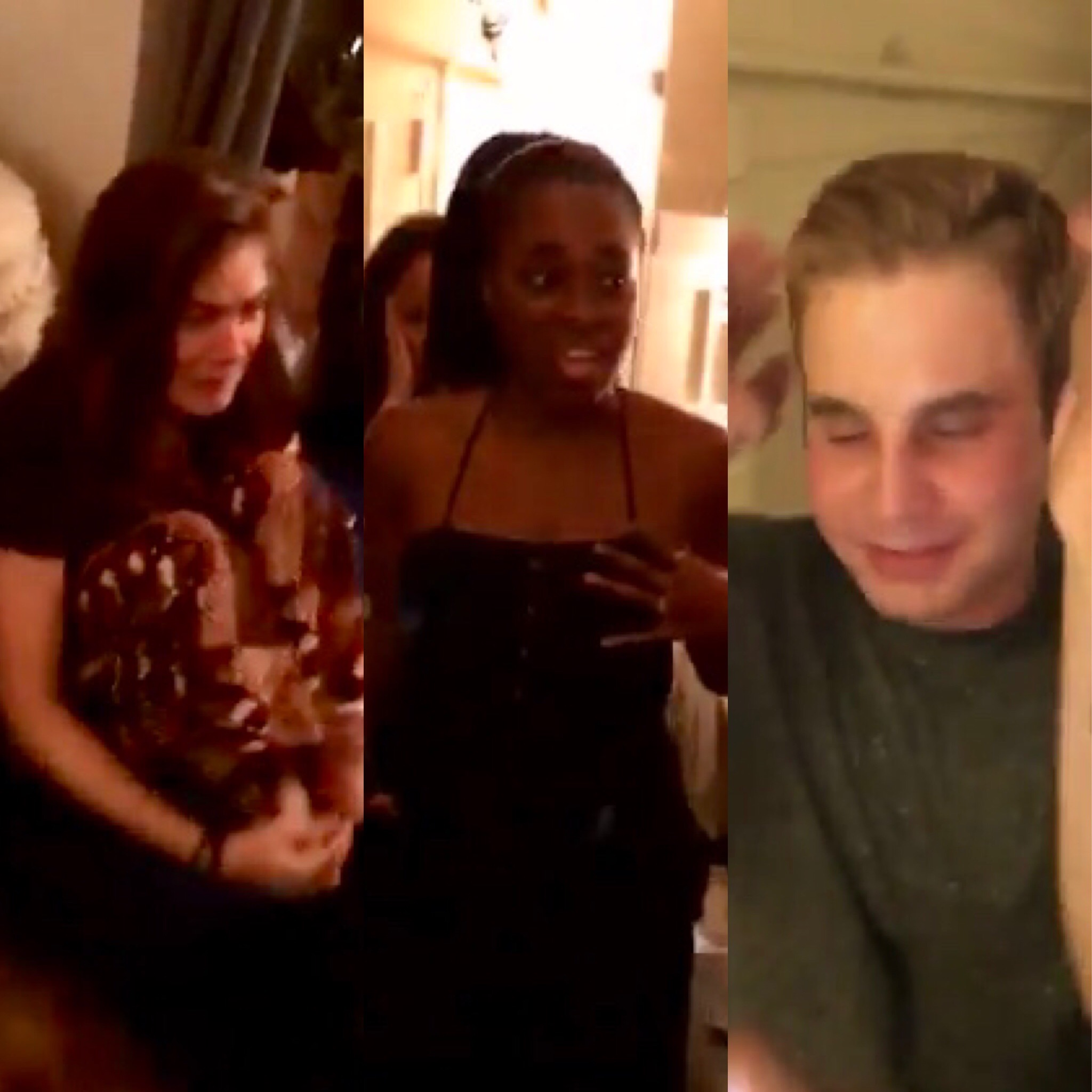 "The ""aftermath"" of Beyonce's visit to the cast of Broadway's Dear Evan Hansen"