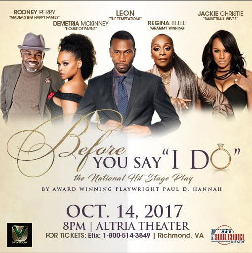 Soul Choice Theatre, Before You Say I Do
