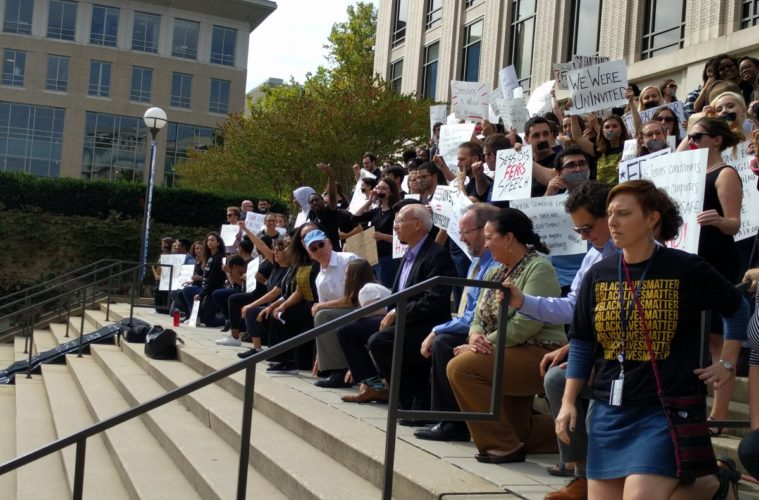 Georgetown Law Students Respond To Attorney General Jeff Sessions' Visit