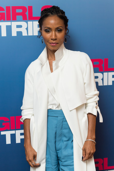 Jada Pinkett Smith attends a special screening of Girls Trip at the Soho Hotel on July 25, 2017 in London, England. (Photo by Ian Gavan/Getty Images for Universal Pictures) . . . . . . . . . . . . . . . . . . . . . . . . .