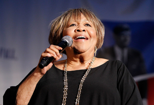 Mavis Staples, singer and civil right activist, performs at the American Visionary: John F. Kennedy's Life and Times debut gala at Smithsonian American Art Museum on May 2, 2017 in Washington, DC.