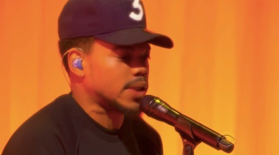 Chance the Rapper - The Late Show (Sept. 25, 2017)