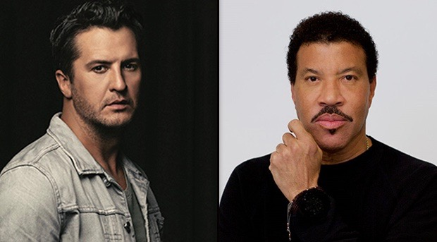 Its official lionel richie luke bryan join katy perry on abcs luke bryan and lionel richie m4hsunfo