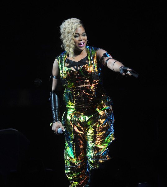 T-Boz of the music group TLC performs at Madison Square Garden