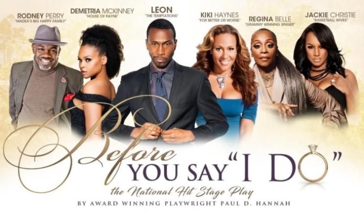 Soul Choice Theatre Presents 'Before You Say I Do' Stage Play