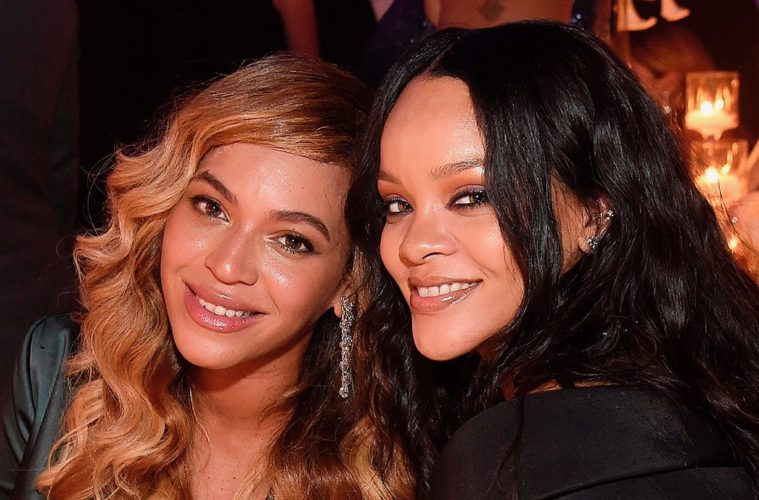 Jay-Z & Beyonce Gussy Up for Rihanna's Ball