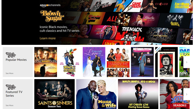 Amazon launches African-American video-on-demand service