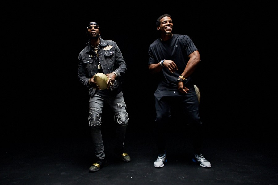 cam newton & 2chainz