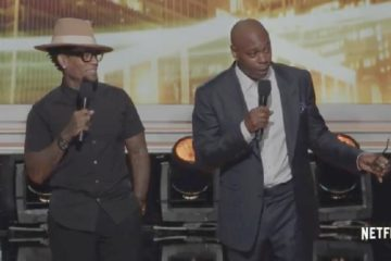 dl hughley & dave chappelle