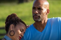 "Nicole Ari Parker and Boris Kodjoe in TV One's ""Downsized"""