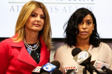 Lisa Bloom and Montia Sabbag (Getty Images)