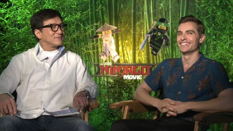 EUR Chats with Jackie Chan & the Cast of 'The Lego Ninjago Movie'