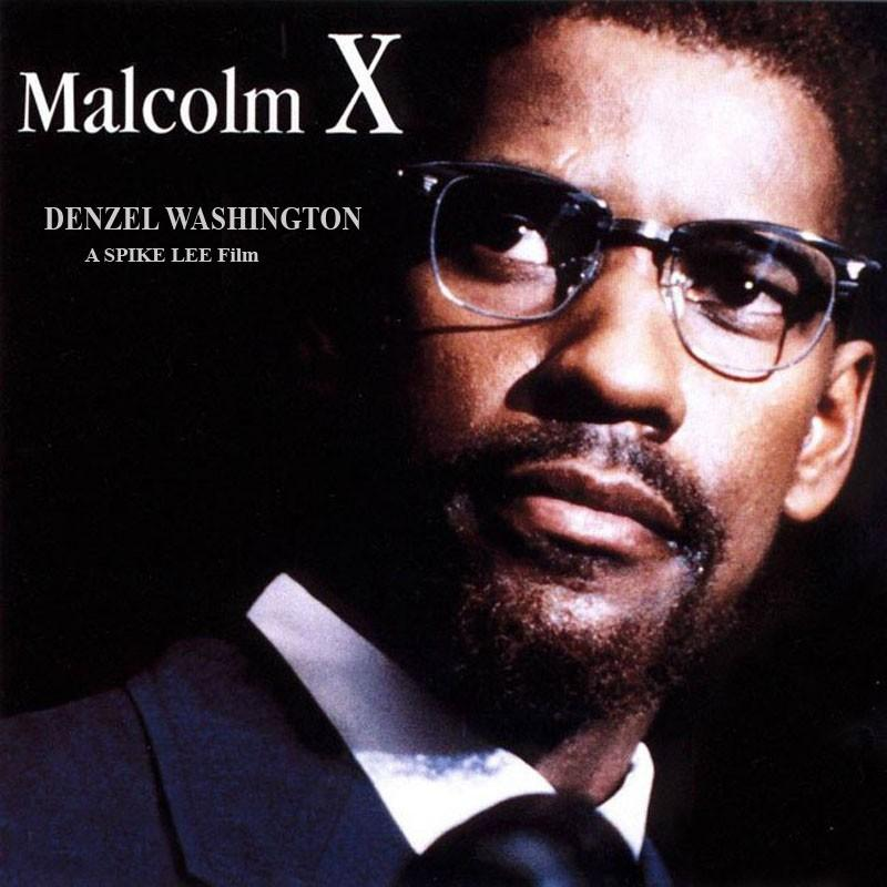 malcolm x - movie poster