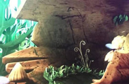 """Screenshot of """"Maya the Bee"""" episode with apparent penis etching."""