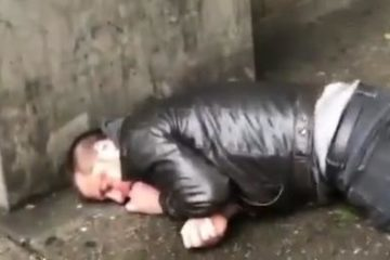 neo-nazi knocked out
