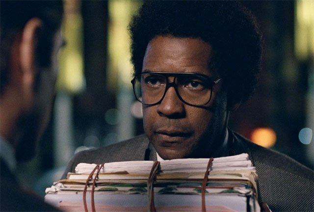 """Roman J. Israel, Esq.,"" starring Denzel Washington"