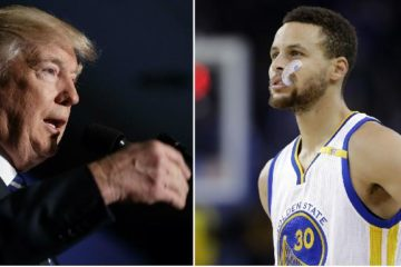 trump - curry