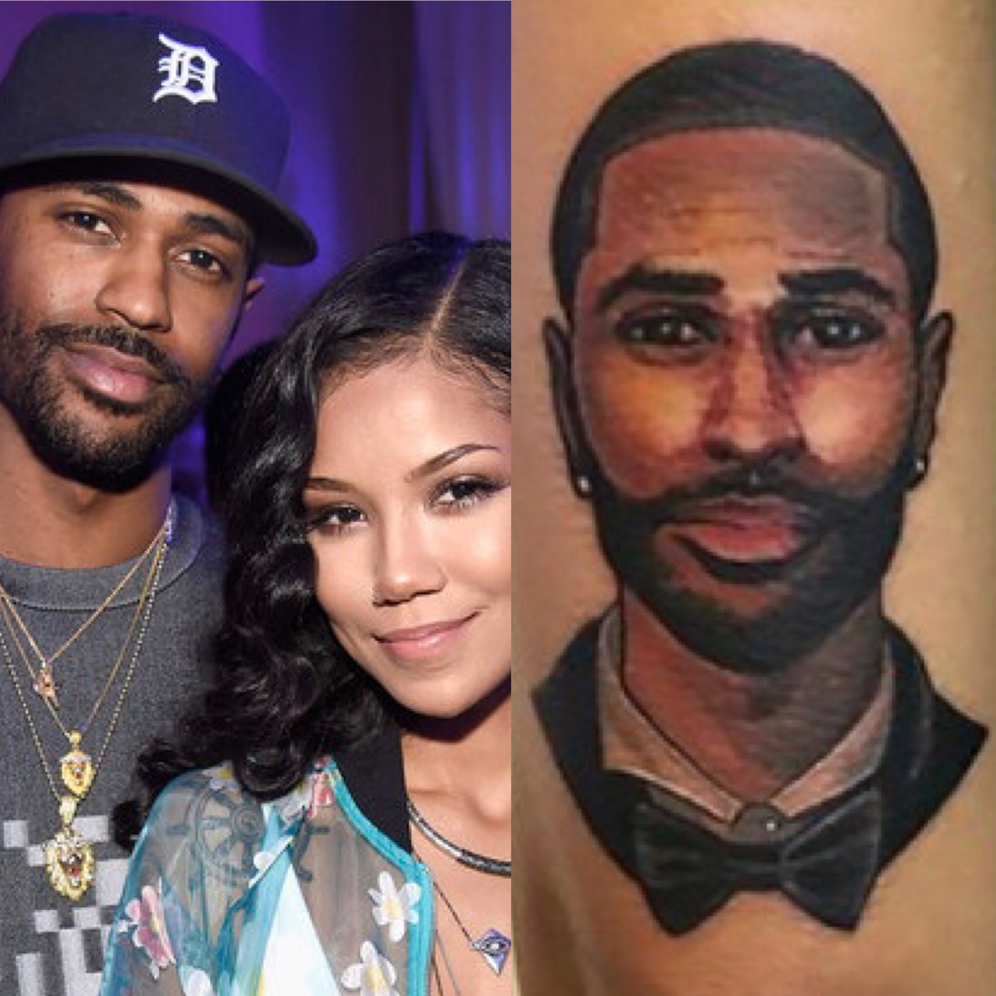 Jhene aiko tattoos images galleries for Big sean tattoos