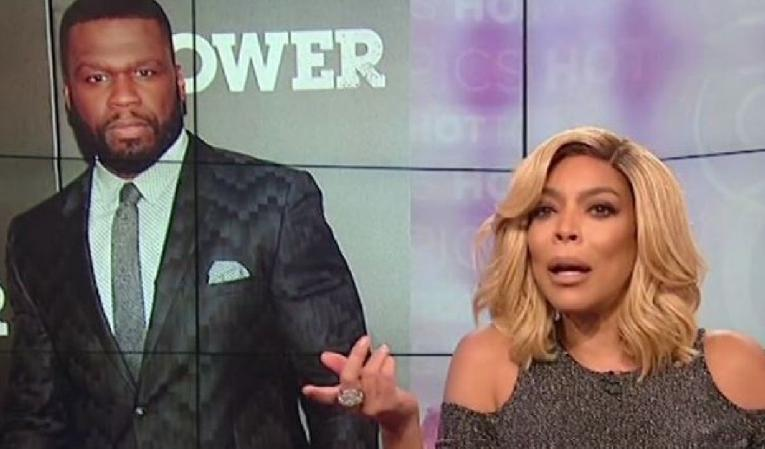 50 cent - wendy williams
