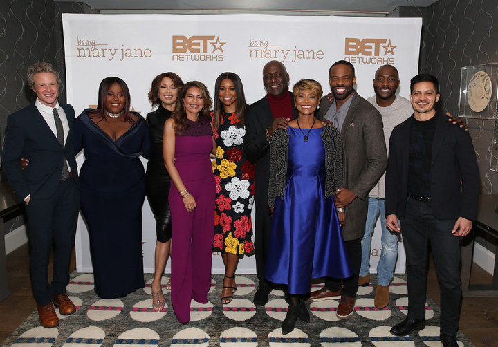 "Cast of BET's ""Being Mary Jane"""