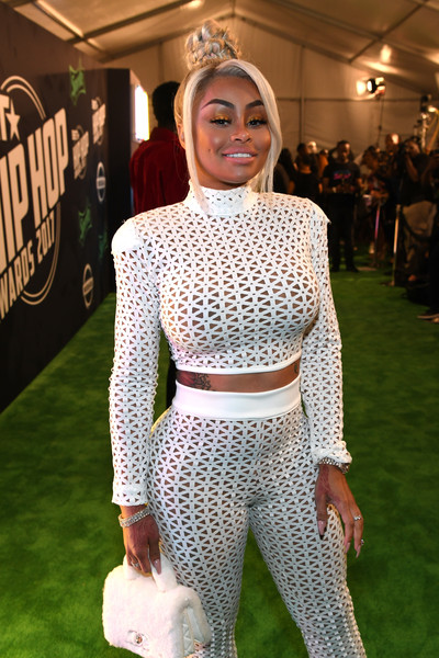 Blac Chyna attends the BET Hip Hop Awards 2017 at The Fillmore Miami Beach at the Jackie Gleason Theater on October 6, 2017 in Miami Beach, Florida.