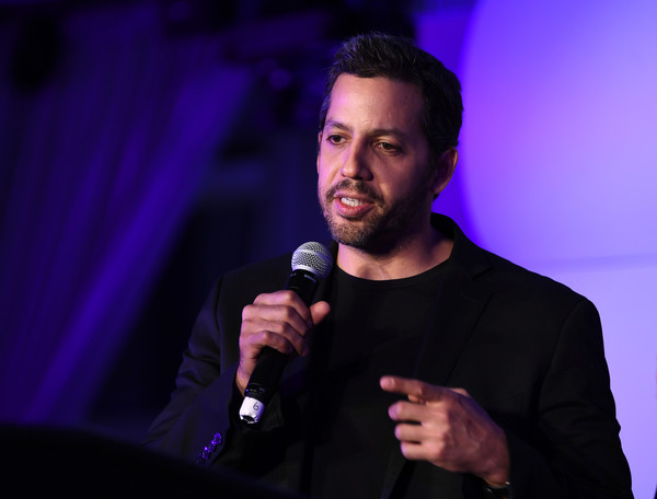 Magician David Blaine speaks during Genius Gala 6.0 at Liberty Science Center on May 5, 2017 in Jersey City, New Jersey.
