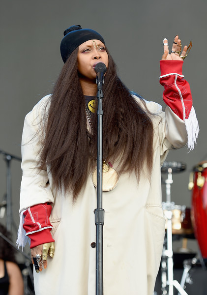 Erykah Badu performs onstage during the Meadows Music and Arts Festival - Day 2 at Citi Field on September 16, 2017 in New York City.