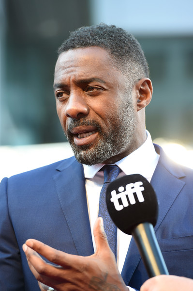 """Idris Elba attends """"The Mountain Between Us"""" premiere during the 2017 Toronto International Film Festival at Roy Thomson Hall on September 10, 2017 in Toronto, Canada."""