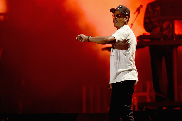 JAY-Z performs onstage during the Meadows Music And Arts Festival - Day 1 at Citi Field on September 15, 2017 in New York City.