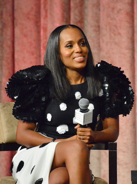 Kerry Washington speaks onstage at the Women Making History Awards at The Beverly Hilton Hotel on September 16, 2017 in Beverly Hills, California.