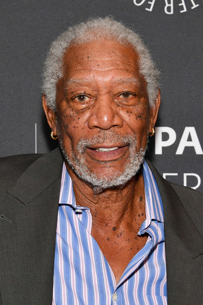 """Host/executive producer Morgan Freeman attends The Paley Center for Media Presents """"The Story of Us with Morgan Freeman"""" at The Paley Center for Media on September 28, 2017 in New York City."""
