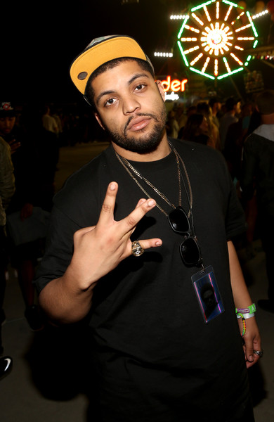 Actor O'Shea Jackson Jr. attends the Levi's Brand And RE/DONE Levi's Present NEON CARNIVAL With Tequila Don Julio on April 16, 2016 in Thermal, California.