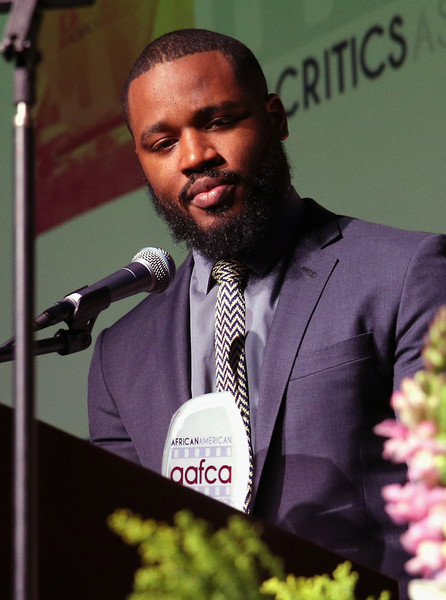 Honoree director Ryan Coogler speaks onstage at the 7th Annual AAFCA Awards on February 10, 2016 in Los Angeles, California.