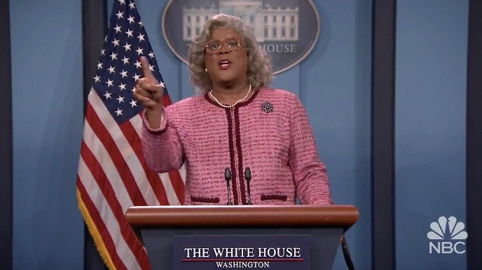 "Tyler Perry as Madea on ""The Tonight Show"""