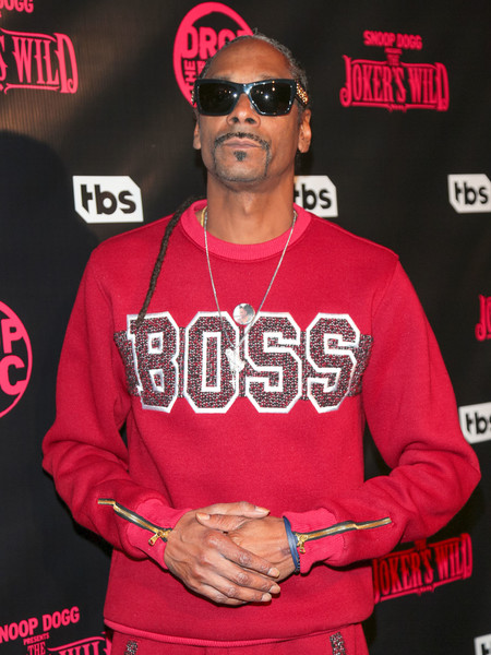 Snoop Dogg is seen attending the premiere for TBS's 'Drop The Mic' and 'The Joker's Wild' at The Highlight Room in Los Angeles, California.