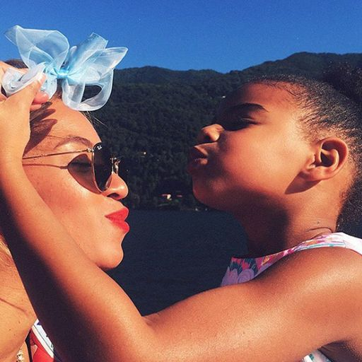 Beyonce and Blue Ivy (Instagram)